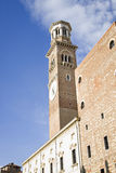 Bell tower Verona Italy Stock Photos