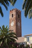 Bell Tower in the village of Noli Royalty Free Stock Image