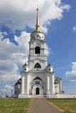 The bell tower in Vladimir Royalty Free Stock Photos