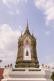 Bell tower in Wat Pho Bangkok, Thailand Stock Image