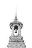 Bell tower in Wat Phra Kaew, Bangkok, Thailand. Royalty Free Stock Photography