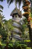Bell Tower in Wat Wang Wiwekaram. Royalty Free Stock Photography
