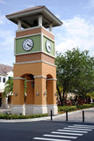 Bell tower in Weston town centre Fort Lauderdale. Florida USA Royalty Free Stock Images