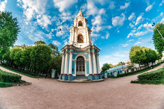 Bell tower wideview Royalty Free Stock Photography