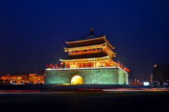 Bell Tower in Xi'an Royalty Free Stock Photo