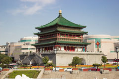Bell Tower of Xi'an Royalty Free Stock Image