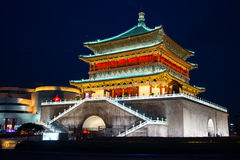 Bell Tower of Xi'an Stock Image