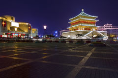 Bell tower in Xi'an. Is a significant landmark of the city Royalty Free Stock Photos