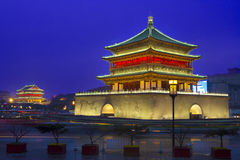 Bell tower in Xi'an Royalty Free Stock Photos