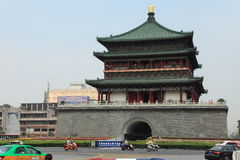 The Bell Tower of Xian Royalty Free Stock Photos