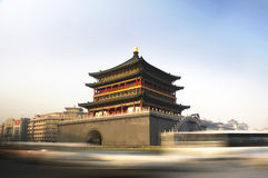 The bell tower. In xian city of china Stock Photography