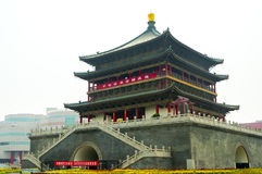 Bell Tower in Xian Royalty Free Stock Photography