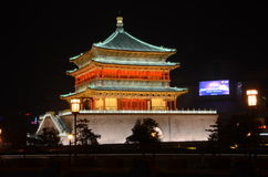 The Bell Tower in Xian Royalty Free Stock Photo