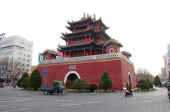 Bell Tower,Yin Chuan, China Stock Photography