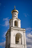 Bell Tower of Yuriev Monastery Stock Image