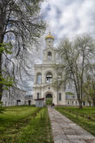 The bell tower of Yuriev Monastery Royalty Free Stock Photo