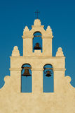 Bell towers of Mission San Juan Royalty Free Stock Photos