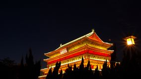 Bell-Trommeltürme Xian Stockfotografie