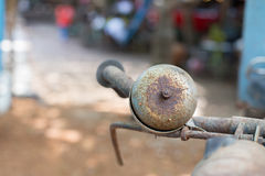 Bell On Vintage Bicycle. Stock Images