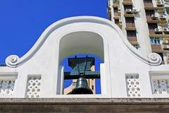 Bell W Obywatelskich i Miejskich sprawach biuro, Macau, Chiny zdjęcie royalty free