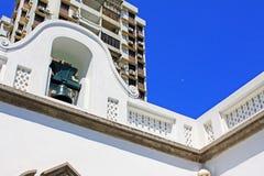 Bell W Obywatelskich i Miejskich sprawach biuro, Macau, Chiny zdjęcia stock
