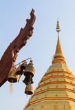 Bell in Wat Phra That Doi Suthep Stock Photography