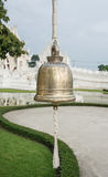 Bell in Wat Rong khun is known among foreigners as the White Temple in Thailand Royalty Free Stock Images