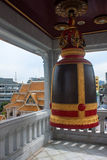 Bell in Wat Traimit Temple Stock Photos