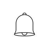 Bell wykłada ikonę, edukację i szkoła element, Fotografia Stock