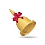 Bell z czerwonym łękiem royalty ilustracja
