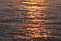 Alba del mare Fotografie Stock Libere da Diritti