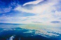 Bella alba sul punto di vista della cima di Fuji Mt Fotografia Stock Libera da Diritti