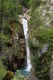 Bella alta cascata Immagine Stock