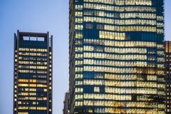 Bella alta costruzione a Fotografia Stock Libera da Diritti