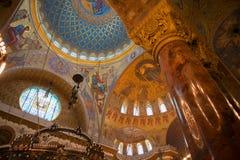 Bella architettura della cattedrale Immagini Stock Libere da Diritti