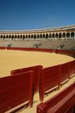 Bella arena di bullfight nella S Immagine Stock