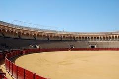 Bella arena di bullfight nella S Fotografia Stock