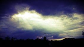 Bella arte del cielo Fotografie Stock Libere da Diritti