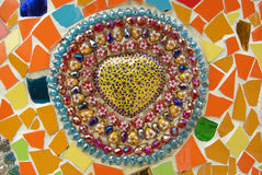 Bella arte del mosaico Immagine Stock