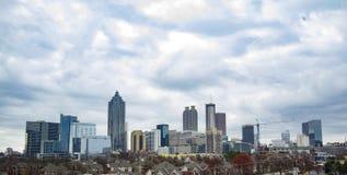 Bella Atlanta del centro Fotografia Stock