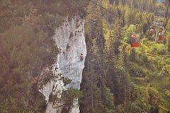 Bella avventura in alpi bavaresi Fotografie Stock