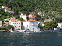 Bella baia del Montenegro Fotografia Stock