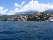 Bella baia del Montenegro Immagini Stock