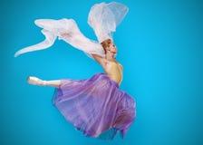 Bella ballerina della giovane donna Fotografia Stock