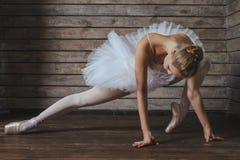 Bella ballerina della giovane donna Immagini Stock