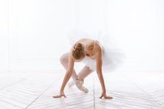 Bella ballerina della giovane donna Immagine Stock
