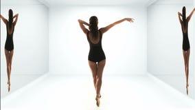 Bella ballerina moderna archivi video