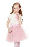 Bella bambina 5-6 anni Fotografie Stock