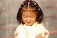 Bella bambina asiatica Immagini Stock Libere da Diritti