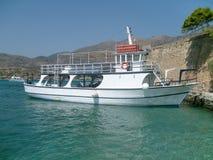 Bella barca privata Fotografia Stock
